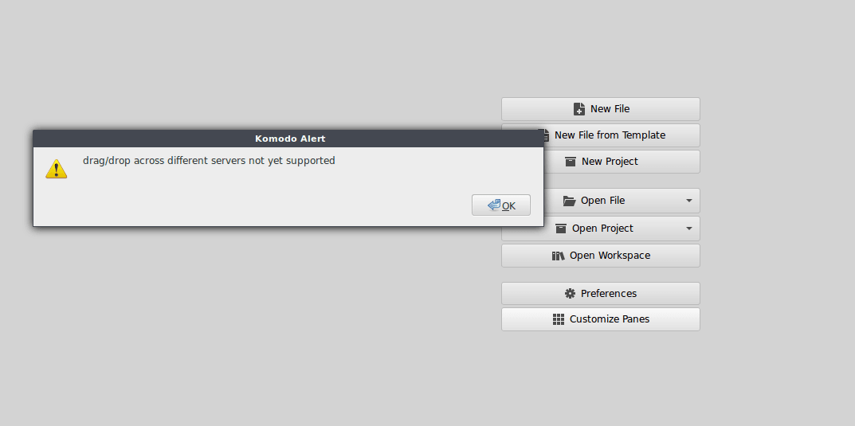 Can't Upload Files - Resolved - Komodo IDE & Edit | Forums