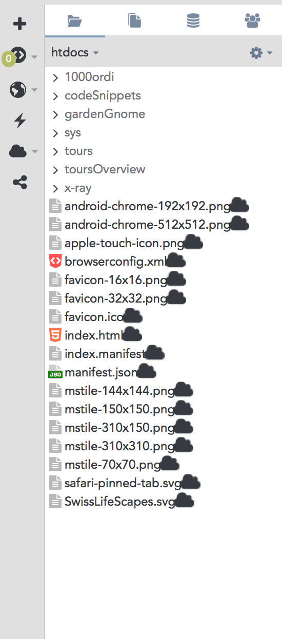 Cloud icons? - Support - Komodo IDE & Edit | Forums